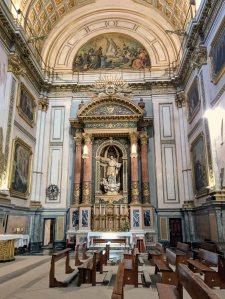 The Altar of San Ignacio de Loyola