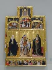 Return of San Martín with Santa Úrsula and San António Abad