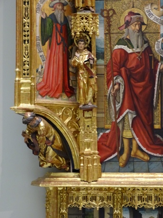 Detail from the Altarpiece of the Purest Conception