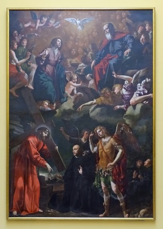 Apparition of Christ to St Ignatius de Loyola (1631)