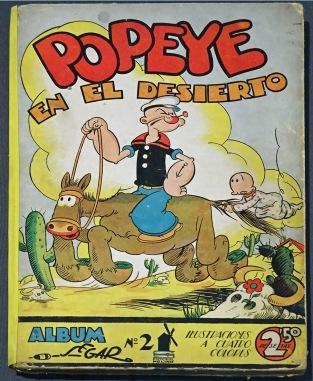 Popeye by E. C. Segar (first appeared in 1929)