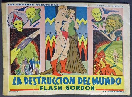 Jungle Jim / Flash Gordon by Alex Raymond 1938