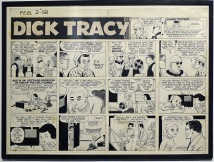 Dick Tracy by Chester Gould 1945