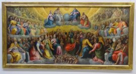 Glory with all the saints