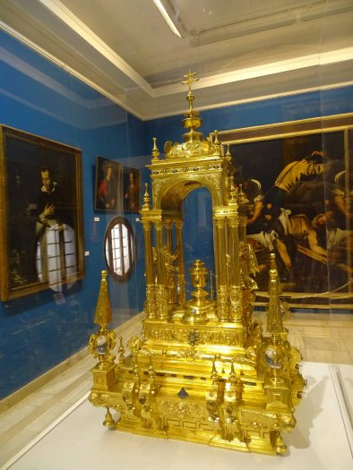 Monstrance in the Museo del Patriarca