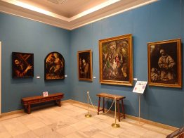 A gallery in the Museo del Patriarca
