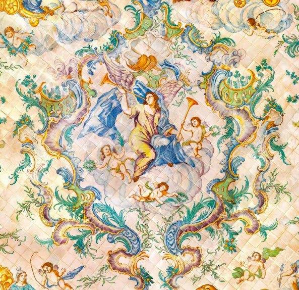 18th century Valencian ceramic floor