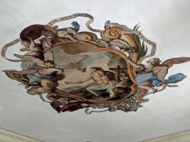 Ceiling Fresco in the Hall of Fame
