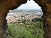 At 311m (~1000 ft) the views of Xàtiva were amazing.