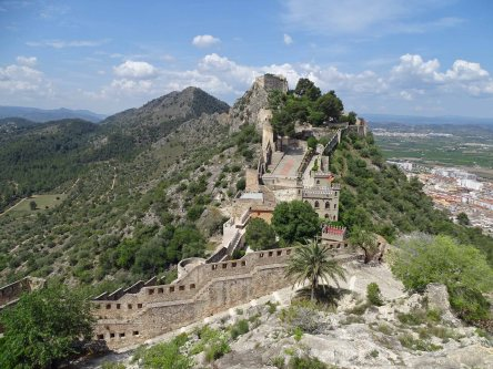 Strategically located the castle protected a Roman road crossing all of Hispania Province
