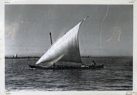 A Lateen-rigged felucca