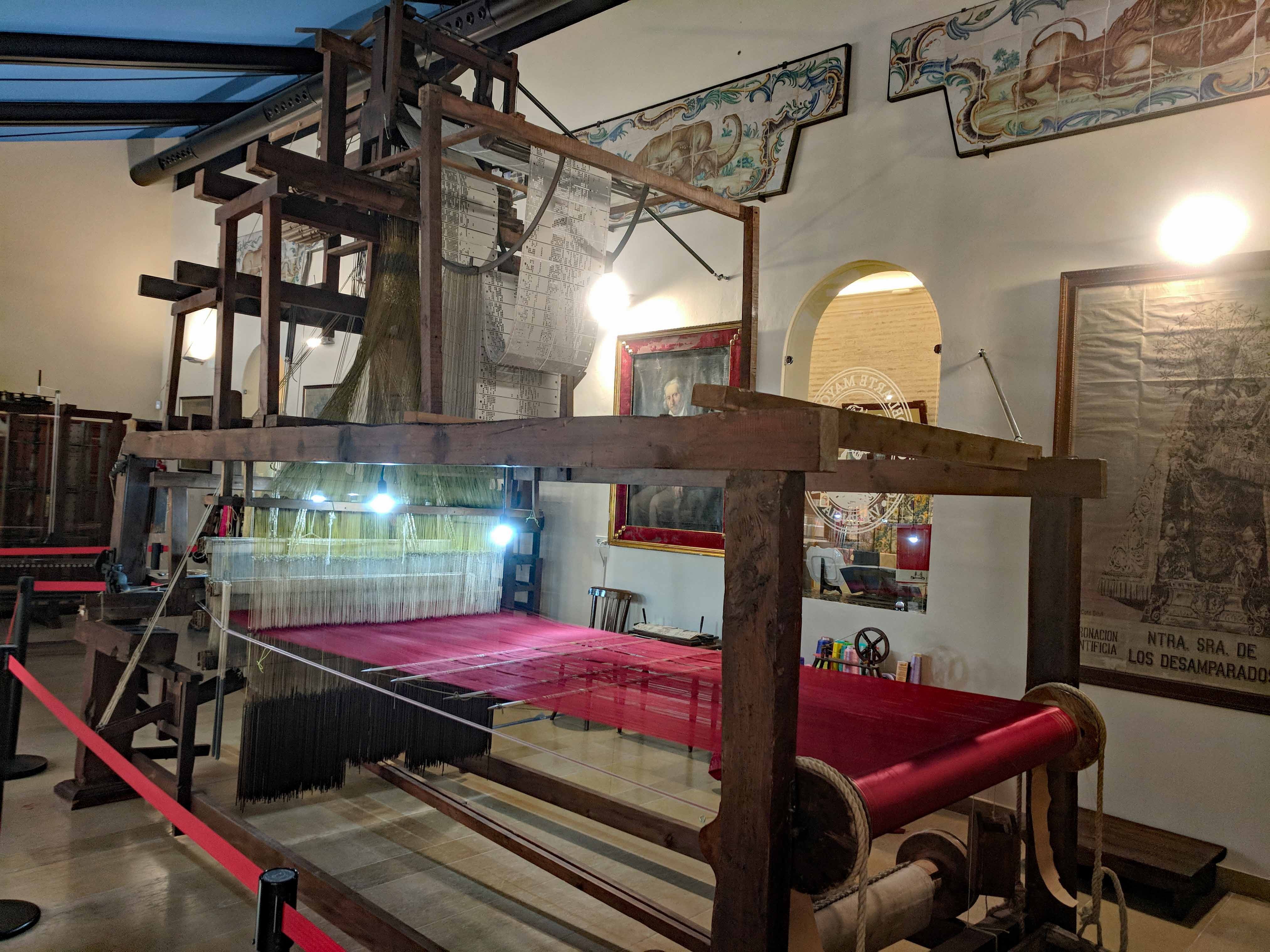 A Jacquard loom – Our Tapestry
