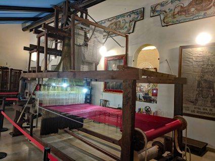 A Jacquard loom