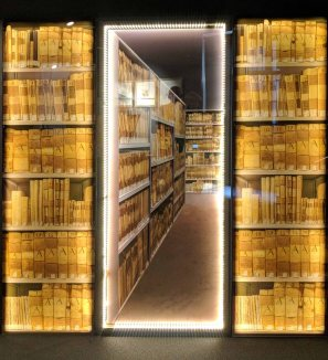 An artistic way to show what the Historical Archive might look like.