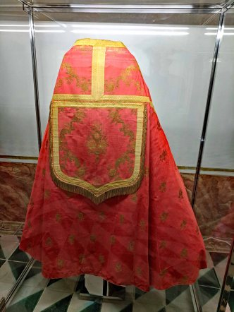 A Papal Silk Cloak