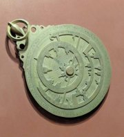 An Arabic Astrolabe dating around 1291. Possibly made in Yemen.