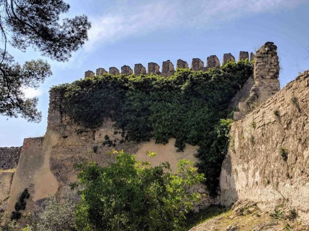 Battlements of the Castillo Menor