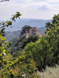 A view of the smaller Castillo Menor