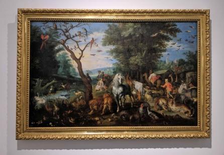 Entrance to the Ark of Noah by Jon Brueghel el Jove (1601-1678)