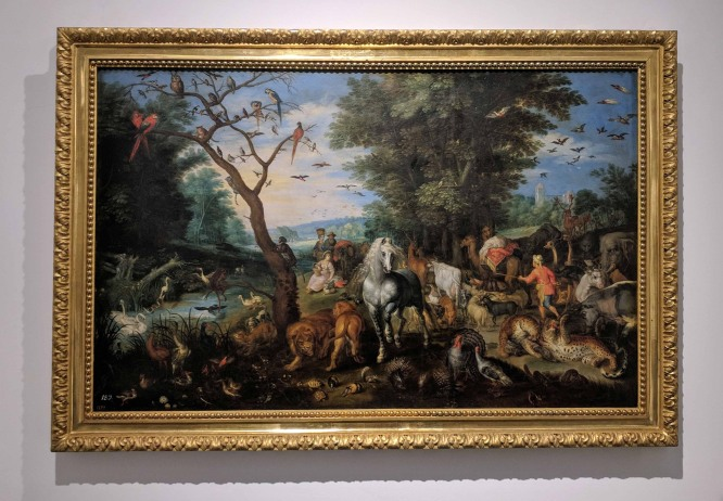 Entrance to the Ark of Noah by Jon Brueghel el Jove (1601-1678)