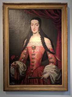 Maria Luisa D'Orleans Queen of Spain by Jose Garcia Hidalgo (1645-1717)