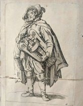 Print by Jacques Callot (1592-1635)
