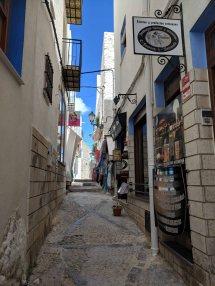 Narrow Cobbled Street