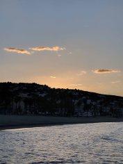 Sunset over North Beach