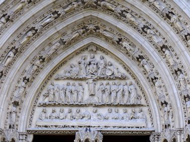 The Archivolt and Tympanum