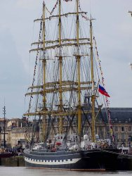 Kruzenshtern is a four-masted barque that was built in 1926.