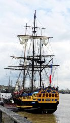 Etoile du Roy - is a three-masted sixth-rate frigate.