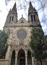 Facade of Église Saint-Louis des Chartrons