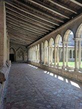 The cloister of the Collegiate Church of Saint-Emilion