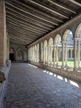 The cloister of the Collegiate Church of Saint-Emilion