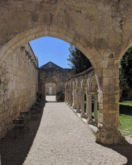 Cordeliers cloister of Saint-Emilion.
