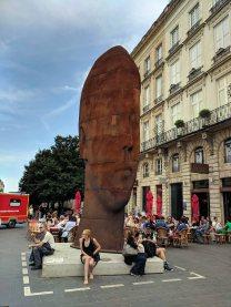 """""""Sanna"""", a sculpture by Jaume Plensa"""