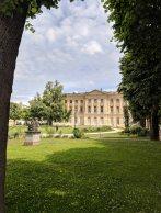 The gardens of the Musée de Beaux Arts