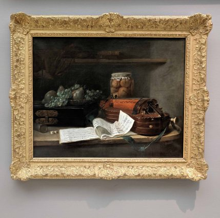 Still life in the old world
