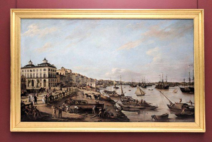 The quays of Bordeaux