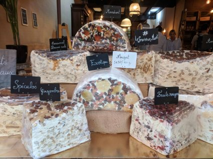 Many flavors of Nougat for sale