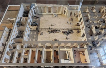 Scale Model of a Customs House