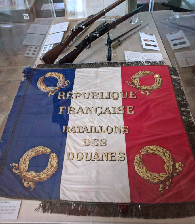 Flag of the Republic of France - Battalion of Customs