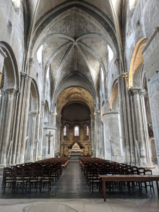 Nave looking forward to the Apse