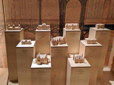 Wooden model display