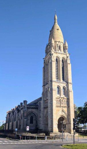 Facade of Saint-Marie de la Bastide