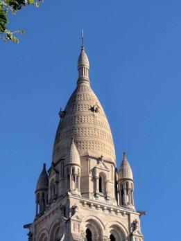The odd-shaped belfry
