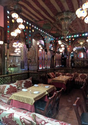 A Moroccan Tea House