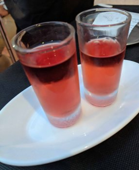 Pacharán (Sloe Berry) liquer aperitif