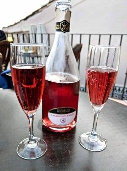 Spanish Rosada wine