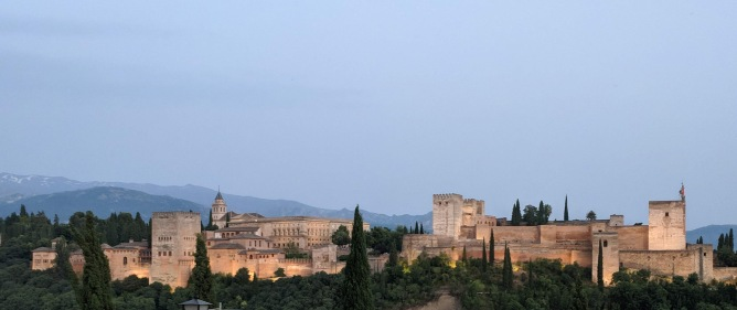 Panorama of the Alhambra